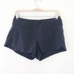 Athleta Black Pulse Shorts Size Small